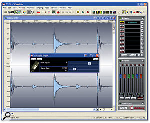 The newly refined Audio Input plug-in now lets you record incoming signals to up to eight audio channels simultaneously, for live surround recording and treatment.