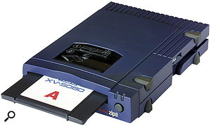 Another backup option for the Xv5080 is Iomega Zip disk, connected via SCSI, although this is less flexible in practice than Smart Media cards.