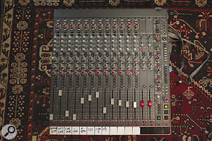 The Amek desk that was used to record xx has since been replaced by aNeotek Élan.