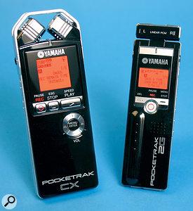Yamaha Pocketrak 2G & CX
