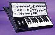 Moog Sub Phatty synthesizer.
