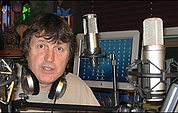 Paul White with mics.