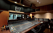 The control room in Sunset Sound Studio 1, with its custom API/Di Medio desk.