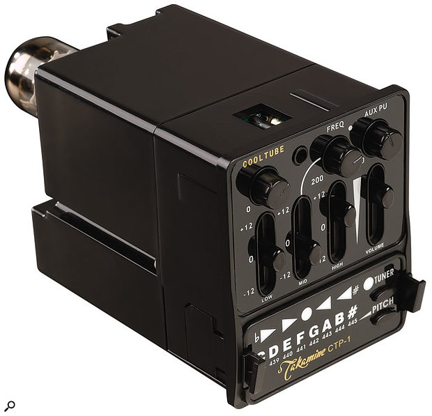 Takamine CTP1 Cool Tube onboard guitar preamp.
