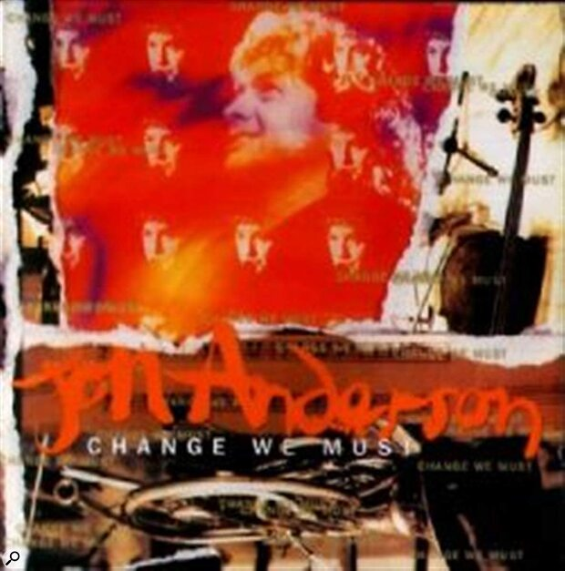 Jon Anderson: Change We Must CD cover