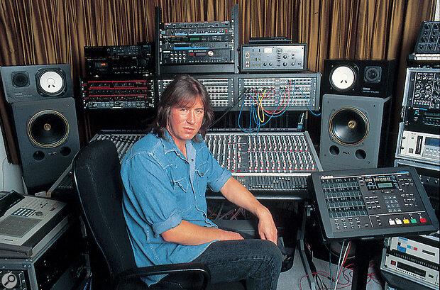 Mark Shreeve's home studio c.1995