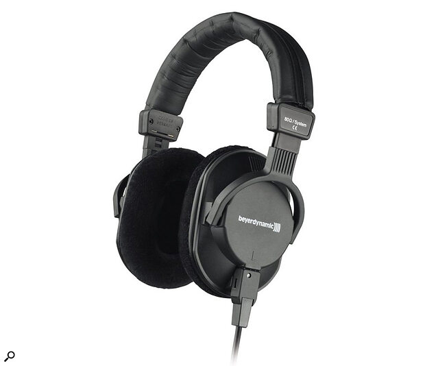 Beyerdynamic DT250 headphones.