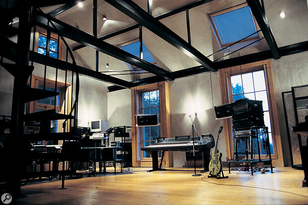 Chez Wilder... not your average bedroom studio!