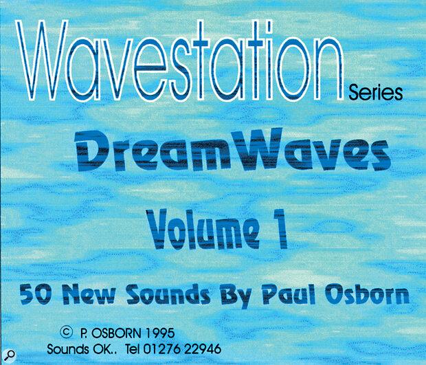Sounds Ok Dreamwaves Korg Wavestation Sound Cards