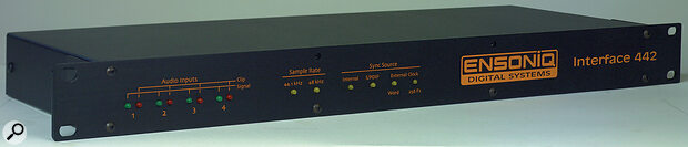 The 442 digital I/O interface for the PARIS II system.
