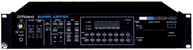 Roland MKS80 Super Jupiter rack.