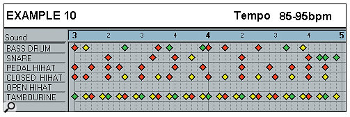 Effective Drum Programming: Part 1 Example 10.