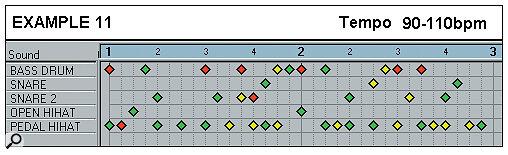 Effective Drum Programming: Part 1 - Example 11.