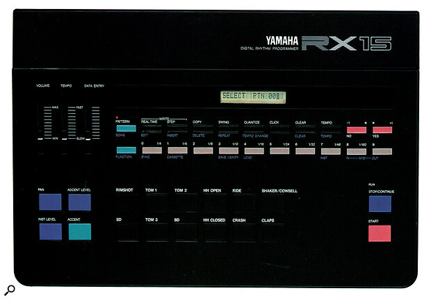 Yamaha RX-15 rhythm programmer.