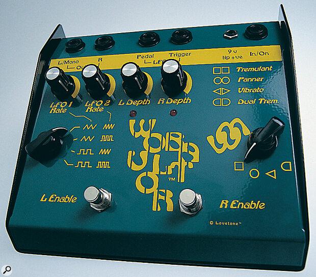Lovetone Wobulator Stereo Vibrato/Tremolo Pedal