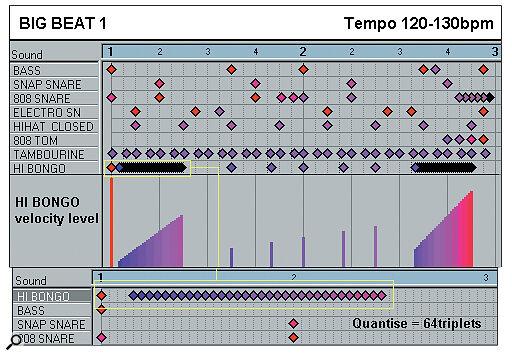 Effective Drum Programming: Part 3 - Big Beat 1 example.