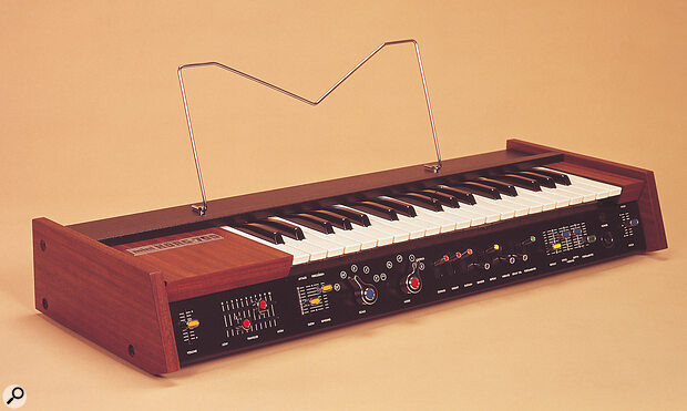 """The MiniKorg 700 — """"with a 700, a long blonde wig and a flowing cape, the world was at your feet."""