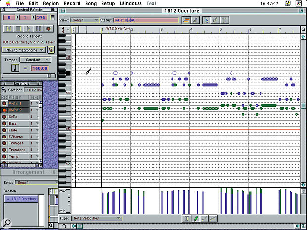 Most of FreeStyle's main windows, including the Graphic Editor, to the right.