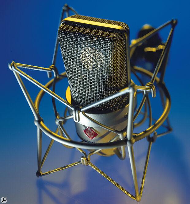 Neumann TLM103 microphone.