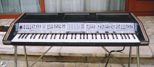 The original 1975 Polymoog Keyboard.