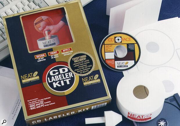 Neato CD Labelling Kit