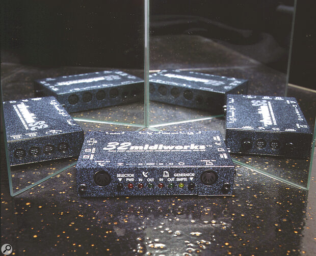 32MIDIWORKS Dual Port Macintosh MIDI Interface