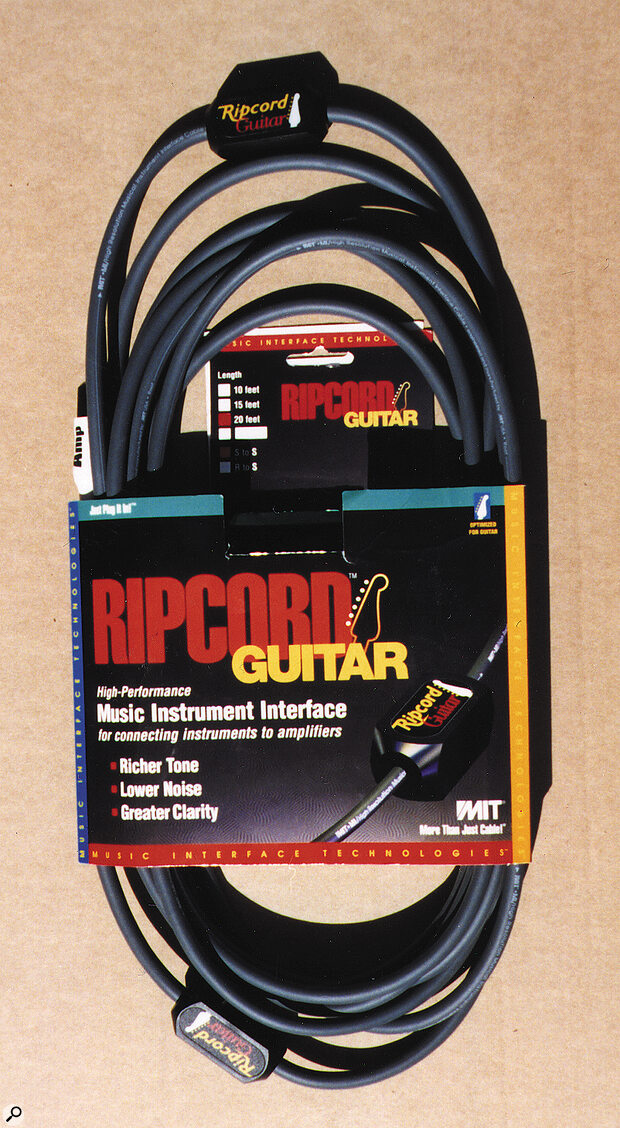 Mit Ripcord Guitar Lead