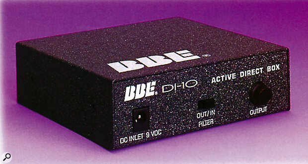 BBE DI-10 DI Box With Speaker Simulator