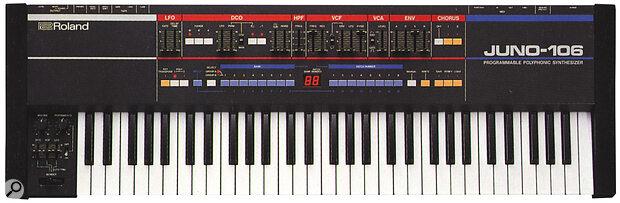 The Alpha Junos' immediate predecessor, the hugely successful Juno 106, introduced MIDI into the range.