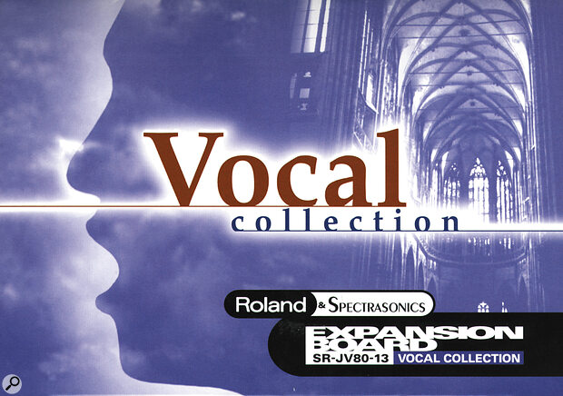 Roland Vocal Collection JV-Series Synthesizer Expansion Board
