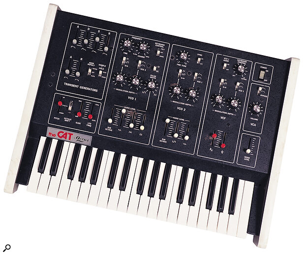 Octave's The CAT duophonic synthesizer.