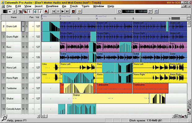 The automation data for each playback channel appears within the existing tracks, apart from that of the Main channel , which has its own Console Automation channel as shown here. You can edit any of the data using the existing Event List editor.