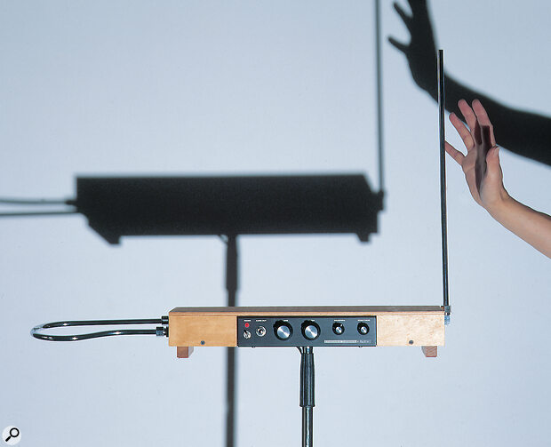 Reproducing Theremin Sounds Using A Synthesizer
