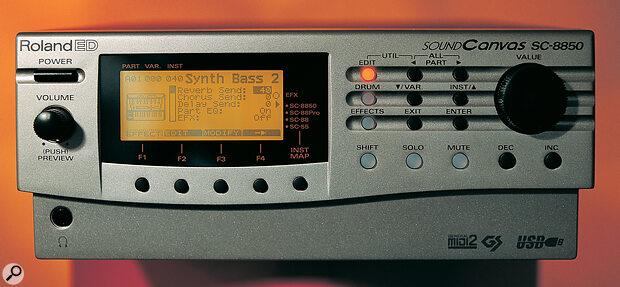 Roland ED SC8850 Sound Canvas