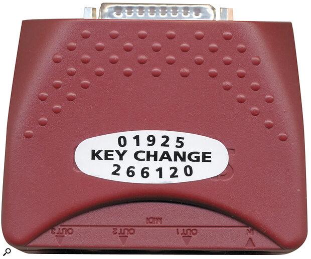 Keychange Music Service's Proper Job multi‑port MIDI interface.