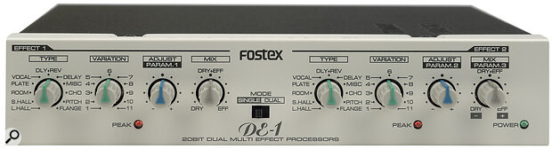 Fostex DE1 Dual Effects Unit