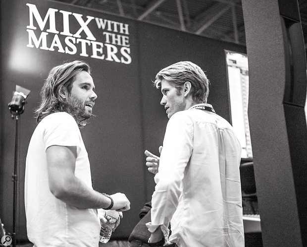 Maxime Le Guil and Victor Levy-Lasne of Mix With The Masters.