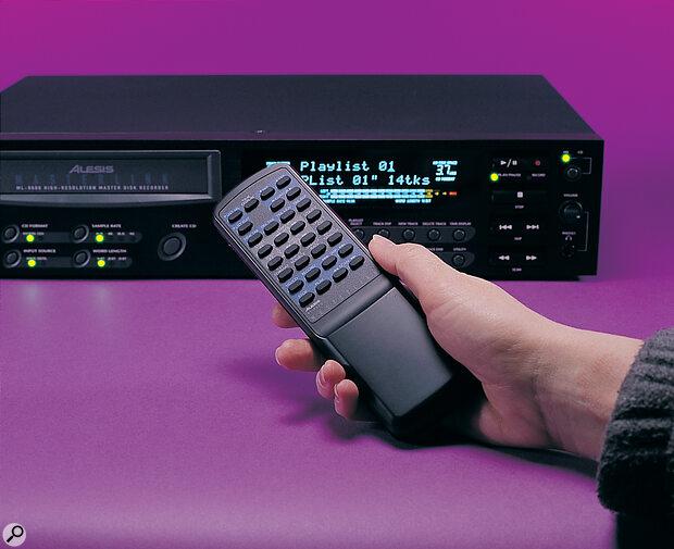Alesis MasterLink with remote control.