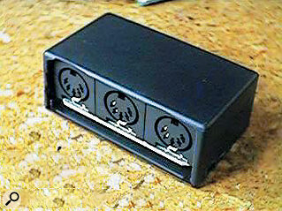 The MIDI 3, from New Zealand Atari hardware developer Mario Becroft, provides cost‑effective MIDI output expansion.