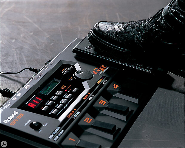 The built‑in pedal is an invaluable means of adding expression simply and quickly.