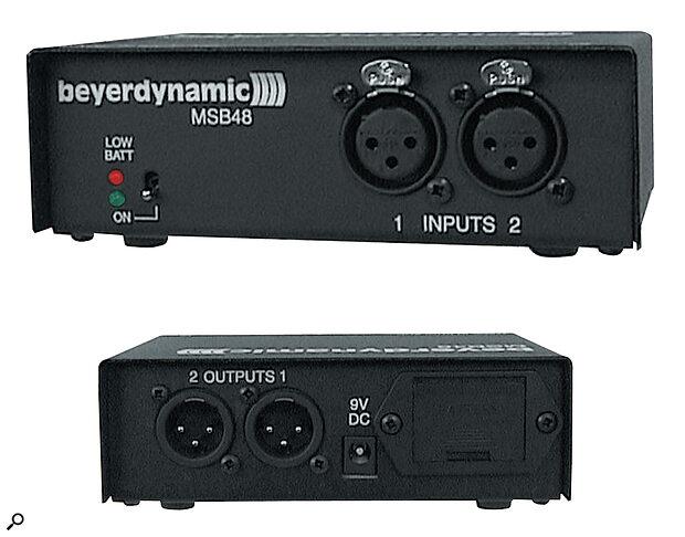 Beyer MSB48 Phantom Power Supply