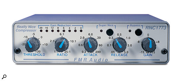 FMR's Really Nice Compressor lives up to its name and won't break the bank, at £199.