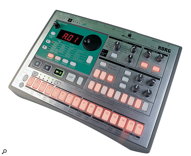 Korg's ES1: a pad‑equipped phrase sampler that's just the job for triggering live sound effects.