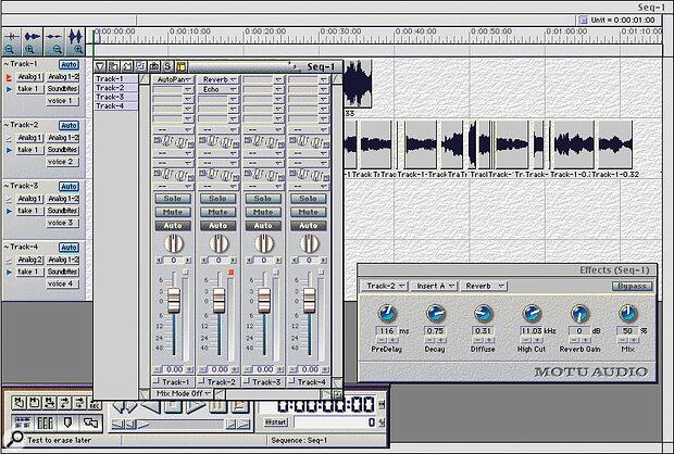 MOTU 828 MkI software.