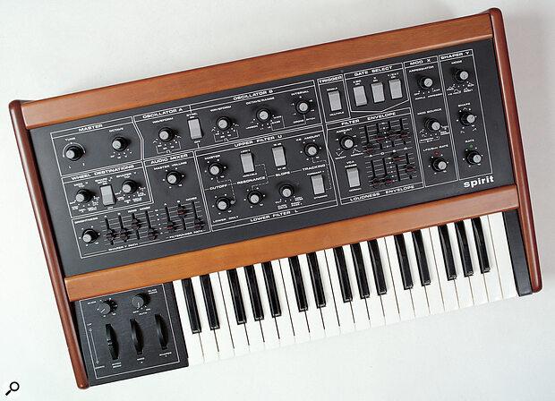 Crumar Spirit synthesizer