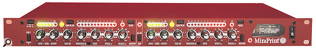 A dual‑channel compressor, such as one of the above units from Mindprint and TL Audio, can help match the sound of recorded mono and stereo sources with samples which have already been compressed.