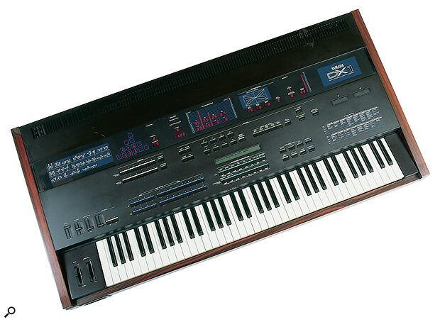 The deluxe Yamaha DX1, arguably FM's finest hour.
