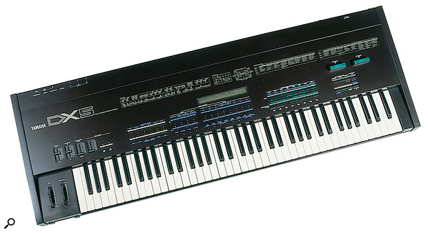 "Yamaha slimmed down the price and the front‑panel furniture for the DX5, which was otherwise a ""perfect substitute"" for the DX1."
