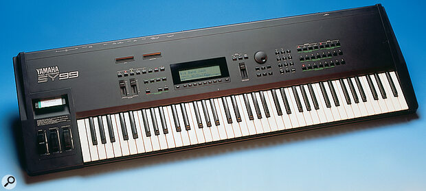 The SY99, Yamaha's last 'Advanced FM' synth.