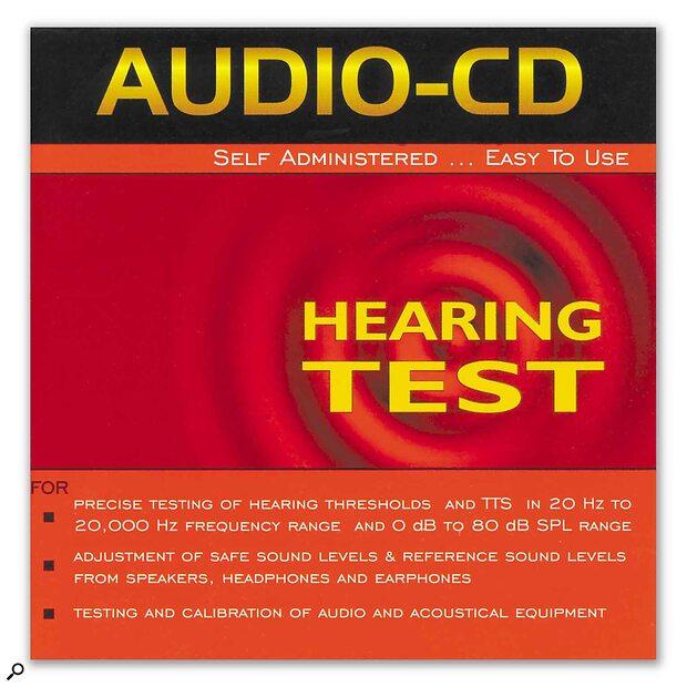 Digital Recordings Audio-CD Hearing Test CD